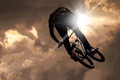 Ακραίος αθλητισμός bmx στοκ φωτογραφίες