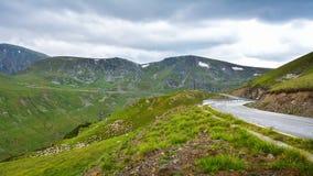 Ακραίος δρόμος - Transalpina Ρουμανία στοκ εικόνες με δικαίωμα ελεύθερης χρήσης