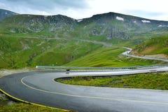 Ακραίος δρόμος - Transalpina Ρουμανία στοκ φωτογραφία με δικαίωμα ελεύθερης χρήσης