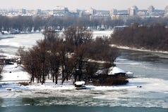 Ακραίος χειμώνας σε Ευρώπη-1 Στοκ φωτογραφίες με δικαίωμα ελεύθερης χρήσης