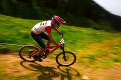 ακραίο βουνό ανταγωνισμού ποδηλάτων Στοκ εικόνα με δικαίωμα ελεύθερης χρήσης