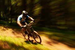 ακραίο βουνό ανταγωνισμού ποδηλάτων Στοκ φωτογραφίες με δικαίωμα ελεύθερης χρήσης