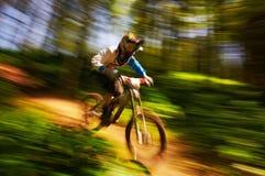 ακραίο βουνό ανταγωνισμού ποδηλάτων Στοκ Φωτογραφία