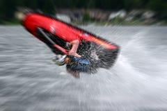 ακραίο προσωπικό watercraft Στοκ Εικόνες