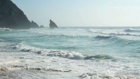 Ακραίο ωκεάνιο νερό κυμάτων φιλμ μικρού μήκους