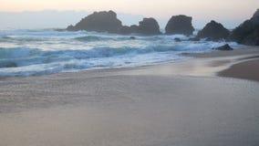 Ακραίο ωκεάνιο νερό κυμάτων απόθεμα βίντεο