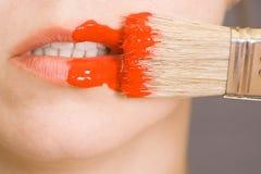 ακραίο makeup Στοκ εικόνα με δικαίωμα ελεύθερης χρήσης