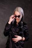ακριβές κοστούμι κοριτσ& Στοκ Φωτογραφίες