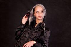 ακριβές κοστούμι κοριτσ& Στοκ Εικόνες