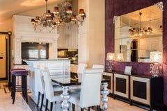 Ακριβό σπίτι στο μπαρόκ ύφος Στοκ Εικόνες