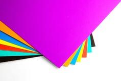 Χαρτόνι χρώματος Στοκ εικόνα με δικαίωμα ελεύθερης χρήσης