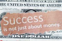 ακριβώς επιτυχία χρημάτων ό&chi στοκ φωτογραφία με δικαίωμα ελεύθερης χρήσης