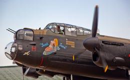 Ακριβώς η Jane, βομβαρδιστικό αεροπλάνο του Λάνκαστερ Στοκ Εικόνα