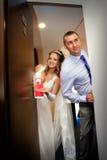 Ακριβώς παντρεμένος μην ενοχλήστε το σημάδι Στοκ Φωτογραφίες