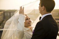 Ακριβώς παντρεμένος Στοκ Εικόνες