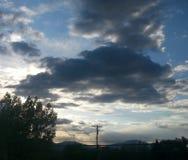 Ακριβώς σύννεφα στοκ εικόνα με δικαίωμα ελεύθερης χρήσης