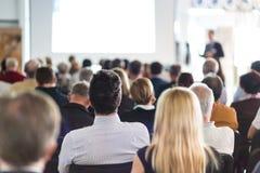 Ακροατήριο στην αίθουσα διάλεξης Στοκ φωτογραφία με δικαίωμα ελεύθερης χρήσης