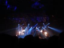 Ακροατήριο στη συναυλία Στοκ εικόνες με δικαίωμα ελεύθερης χρήσης