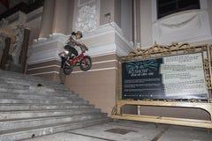 Ακροβάτης BMX Στοκ φωτογραφία με δικαίωμα ελεύθερης χρήσης