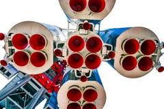 Ακροφύσια προώθησης του διαστημικού σκάφους vostok-1 Στοκ Εικόνες