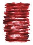 ακρυλική κόκκινη σύσταση Στοκ φωτογραφίες με δικαίωμα ελεύθερης χρήσης