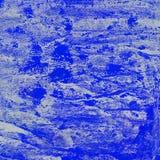 Ακρυλικό μπλε, λουλάκι και ουλτραμαρίνη σύστασης διανυσματική απεικόνιση