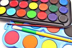 ακρυλικό χρώμα Στοκ εικόνα με δικαίωμα ελεύθερης χρήσης