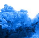 Ακρυλικά χρώματα στο νερό στοκ εικόνα με δικαίωμα ελεύθερης χρήσης