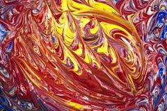 Ακρυλικά χρώματα - σύσταση Στοκ φωτογραφία με δικαίωμα ελεύθερης χρήσης