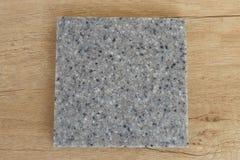 Ακρυλική τεχνητή πέτρα δειγμάτων στοκ εικόνα με δικαίωμα ελεύθερης χρήσης