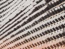 Ακρυλικός τοίχος φύλλων κατασκευασμένος και υπόβαθρο Στοκ Φωτογραφία