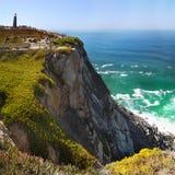 Ακρωτήριο απότομων βράχων, ατλαντική ακτή, Πορτογαλία Στοκ φωτογραφία με δικαίωμα ελεύθερης χρήσης