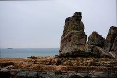 Ακρωτήριο βράχου Στοκ Φωτογραφία