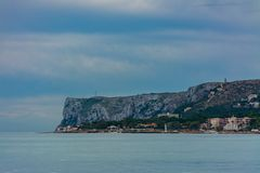 Ακρωτήριο και θάλασσα του San Antonio στοκ φωτογραφία με δικαίωμα ελεύθερης χρήσης
