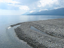 Ακρωτήριο στη λίμνη Baikal Στοκ Εικόνες