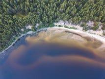 Ακρωτήριο Besov αριθ. Onega λιμνών τοπίο στοκ φωτογραφία με δικαίωμα ελεύθερης χρήσης