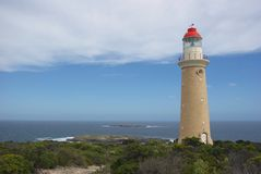 ακρωτήριο couedic du lighthouse Στοκ Φωτογραφία