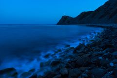 Ακρωτήριο Emine, Βουλγαρία στοκ εικόνα