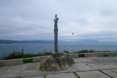 Ακρωτήριο Finisterre Στοκ φωτογραφία με δικαίωμα ελεύθερης χρήσης