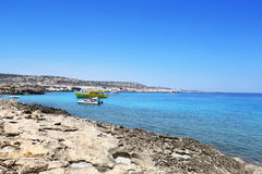 Ακρωτήριο Greko Kavo στη Κύπρο Στοκ Εικόνα