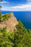 Ακρωτήριο Hoboj στο νησί Olkhon Στοκ εικόνα με δικαίωμα ελεύθερης χρήσης