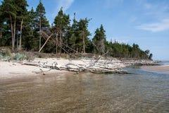 Ακρωτήριο Kolka Στοκ φωτογραφία με δικαίωμα ελεύθερης χρήσης