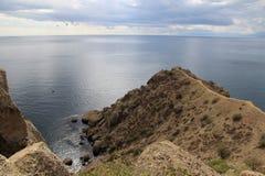 Ακρωτήριο Meganom, Κριμαία Στοκ εικόνα με δικαίωμα ελεύθερης χρήσης