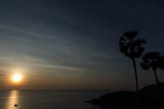 Ακρωτήριο Phromthep ηλιοβασιλέματος Στοκ εικόνες με δικαίωμα ελεύθερης χρήσης