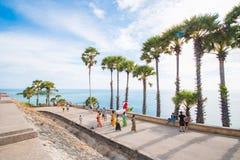 Ακρωτήριο Phromthep Το ορόσημο Phuket, Ταϊλάνδη Στοκ φωτογραφία με δικαίωμα ελεύθερης χρήσης