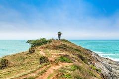 Ακρωτήριο Phromthep, όμορφη άποψη θάλασσας Andaman στο νησί Phuket, Ταϊλάνδη Στοκ φωτογραφία με δικαίωμα ελεύθερης χρήσης