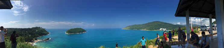 Ακρωτήριο Phuket Promthep Στοκ φωτογραφία με δικαίωμα ελεύθερης χρήσης