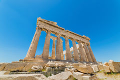 Ακρωτήριο Sounion Η περιοχή των καταστροφών ενός ναού αρχαίου Έλληνα Poseidon, ο Θεός της θάλασσας στην κλασσική μυθολογία στοκ φωτογραφία με δικαίωμα ελεύθερης χρήσης