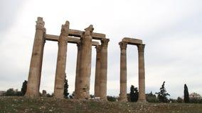 ακρόπολη Αθήνα Ελλάδα απόθεμα βίντεο