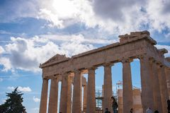 ακρόπολη Αθήνα στοκ φωτογραφίες